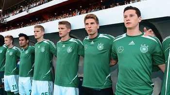 My debut in the national team