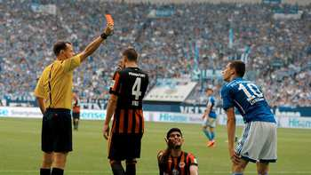 1st Red Card as birthday gift